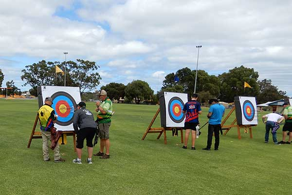Have a go at the Bunbury Archery Club