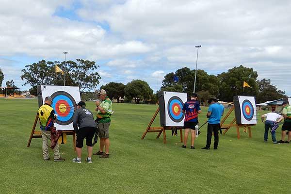 Have a go at the Bunbury Archery Club